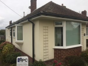 new uPVC to property