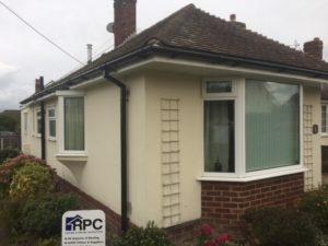 new uPVC to property